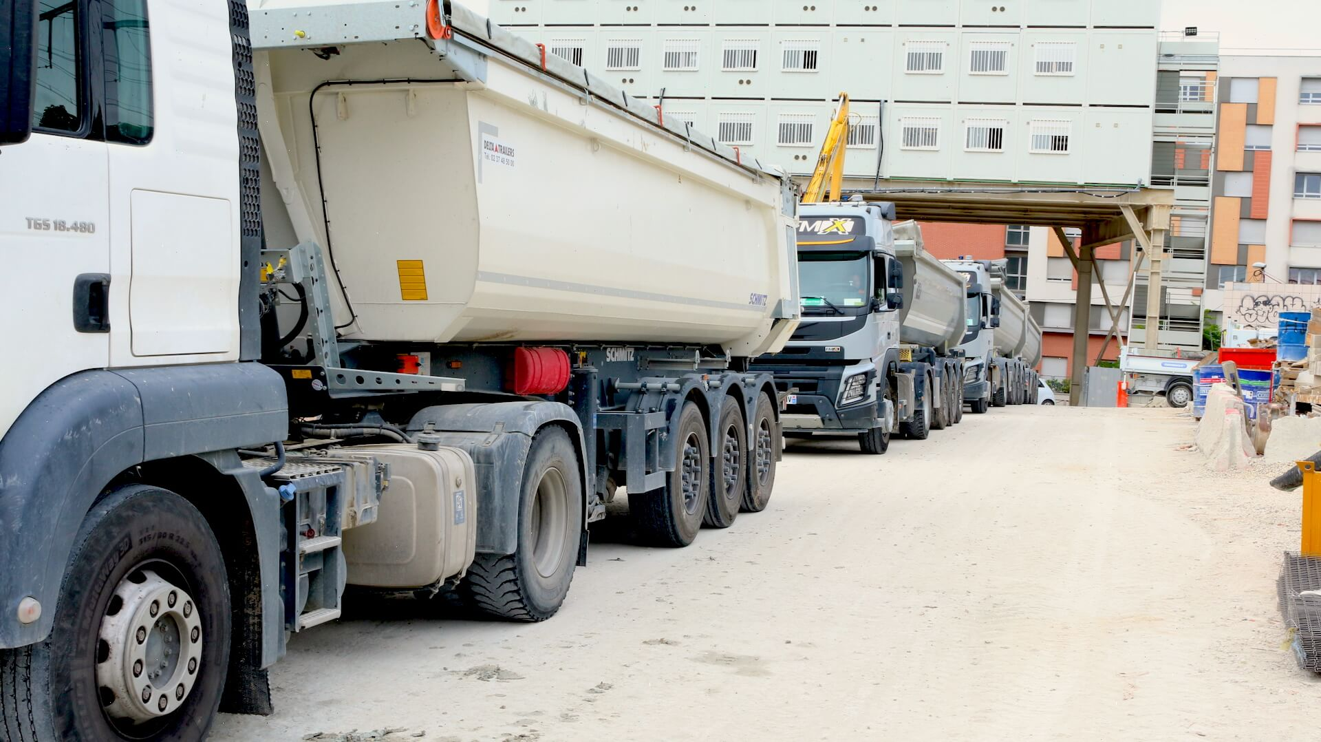Optimisation des flux logistiques des chantiers