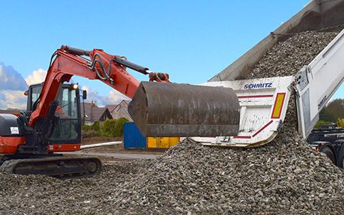 Partenaire pour la gestion de la valorisation des déchets de chantier